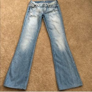 7 for all Mankind vintage flare jeans